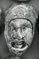 Colère, empreinte, plâtre, 20 x 30 x 15 cm, 1994.