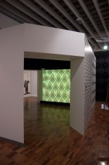 "Destroy Wallpaper 520 cm x 520 cm x 280 cm. Exposition ""Walls are talking"", The Whitworth art gallery, Manchester 2010"