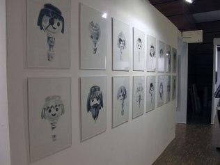Drawing now Paris | Salon du dessin contemporain, Mam galerie, mars 2012.