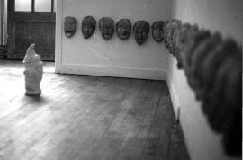 Garden gnomes écorché, Dnsep, ERBA Rouen, 1994.