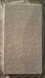 Le filet des évidences, plâtre, 50 x 70 x 8 cm, 2013.