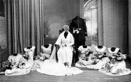 La mariée, 75 x 52 cm, impression numérique sous diasec, caisse américaine. Edition de 1 sur 3, 2016.