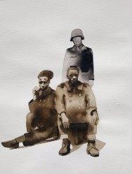 19 juin - Les hosties noires - 41 x 31 cm - Aquarelle sur papier 300gr.