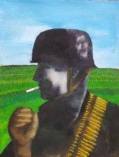 24 juin - Epilogue 02 - Personne n'imagine une guerre de cinq ans - 41 x 31 cm - Aquarelle sur papier 300gr.